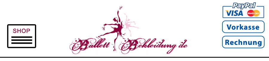 Menue Ballettshop