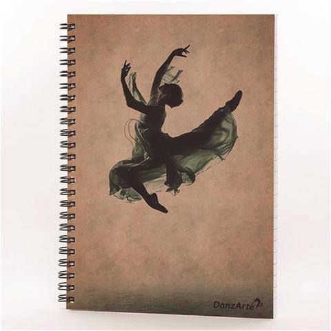 INTERMEZZO Ringbuch mit Ballettmotiv 9035