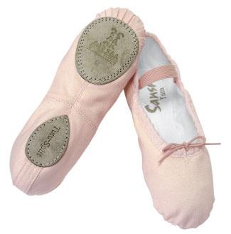 SANSHA Ballettschläppchen 5C/15C